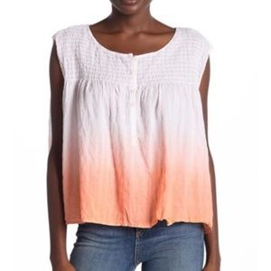 Free People We The Free Ombre Oversized Tank
